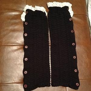 Leg warmers boot cover socks